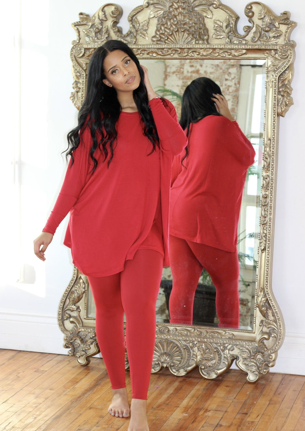 Comfy Chic Set - Red
