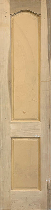 RAISED PANEL DOOR 2-PANEL ARCH TOP 22