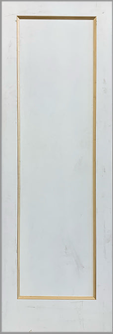 FLAT 1-PANEL DOOR, BEVELED BEADING - MINOR BLEMISH