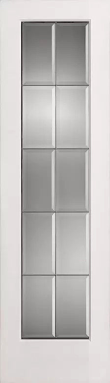 French Interior Doors Clear Beveled Glass with Caming