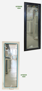 "Casement Window 24"" x 74"" Triple Glazed"