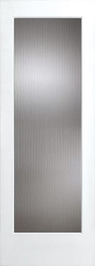 Interior French Door 1-Lite Narrow Reeded Glass 36