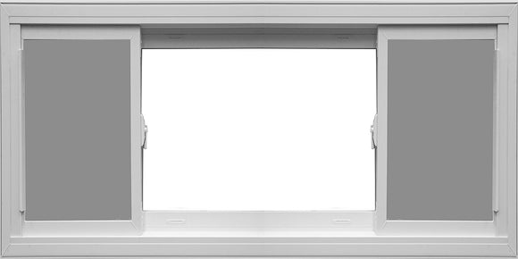 END-VENTING SIDE SLIDING WINDOWS TO ORDER