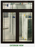 "Casement Window 60"" Wide x 78"" Tall-With Transom"