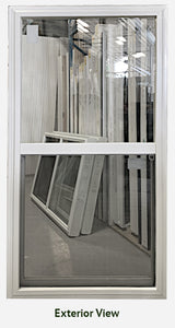 "Single Hung Window 33 ½"" Wide x 62 ⅝"" Tall"