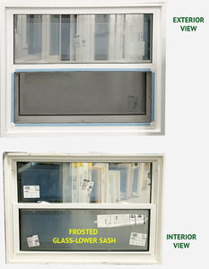 "Single Hung Style Window 41 ¼"" Wide x 34"" Tall"
