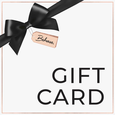 Gift Card - Behave Bras