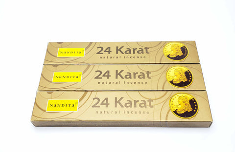 24 Karat Incense Sticks