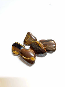 Iron Tiger's Eye Tumbled Stone
