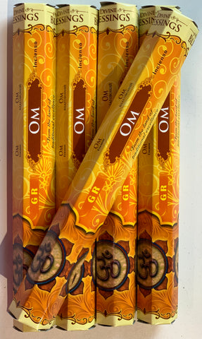 Om Yellow Box Incense Stick
