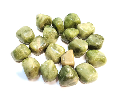 Vesuvianite Tumbled Stone