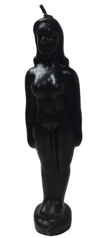 Black Female Figurine Candle