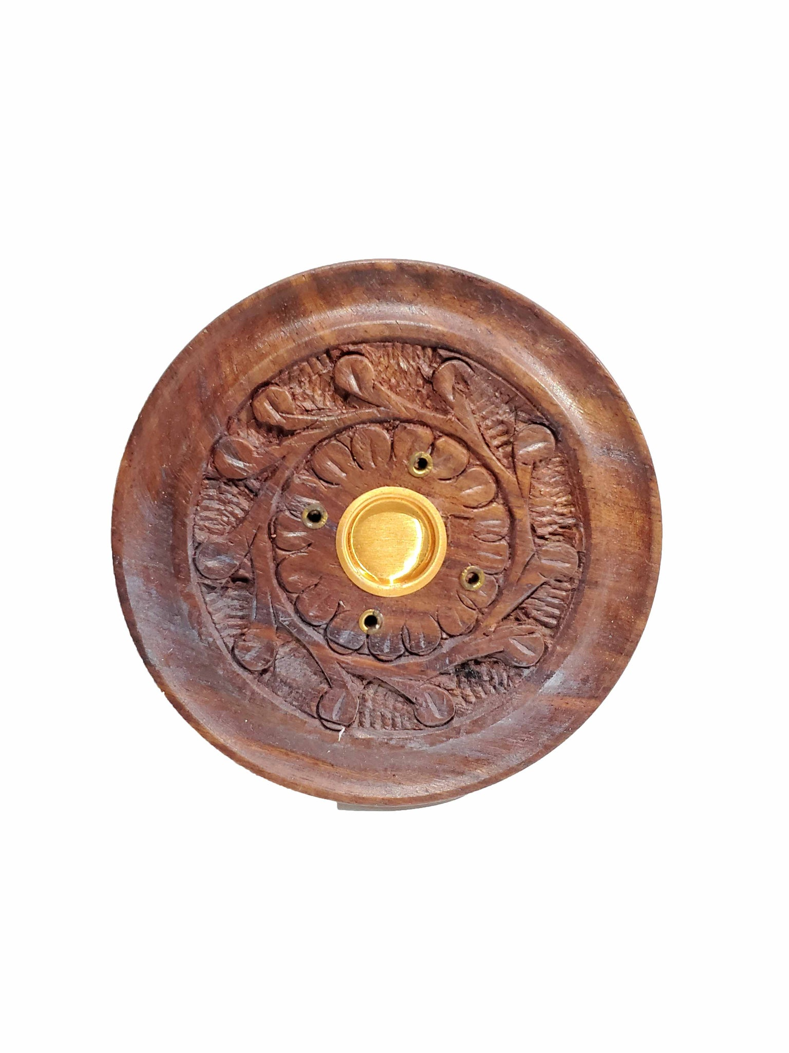 Wood Incense Burner