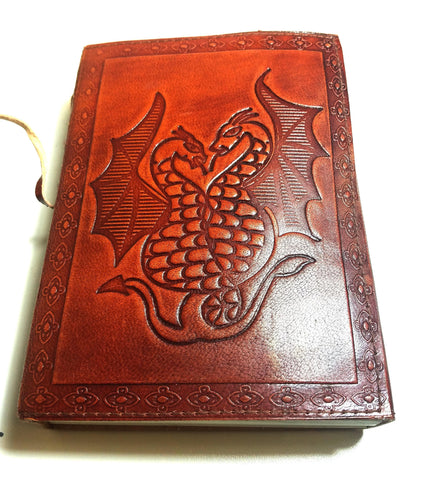 Leather Journal Dragon