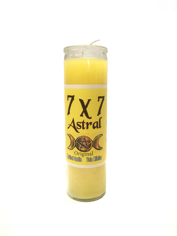 7X7 Astral Candle