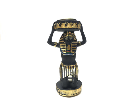 Egyptian Servant Candle Holder