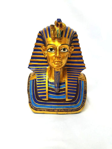 Ancient Egyptian Pharaok King Tut Head