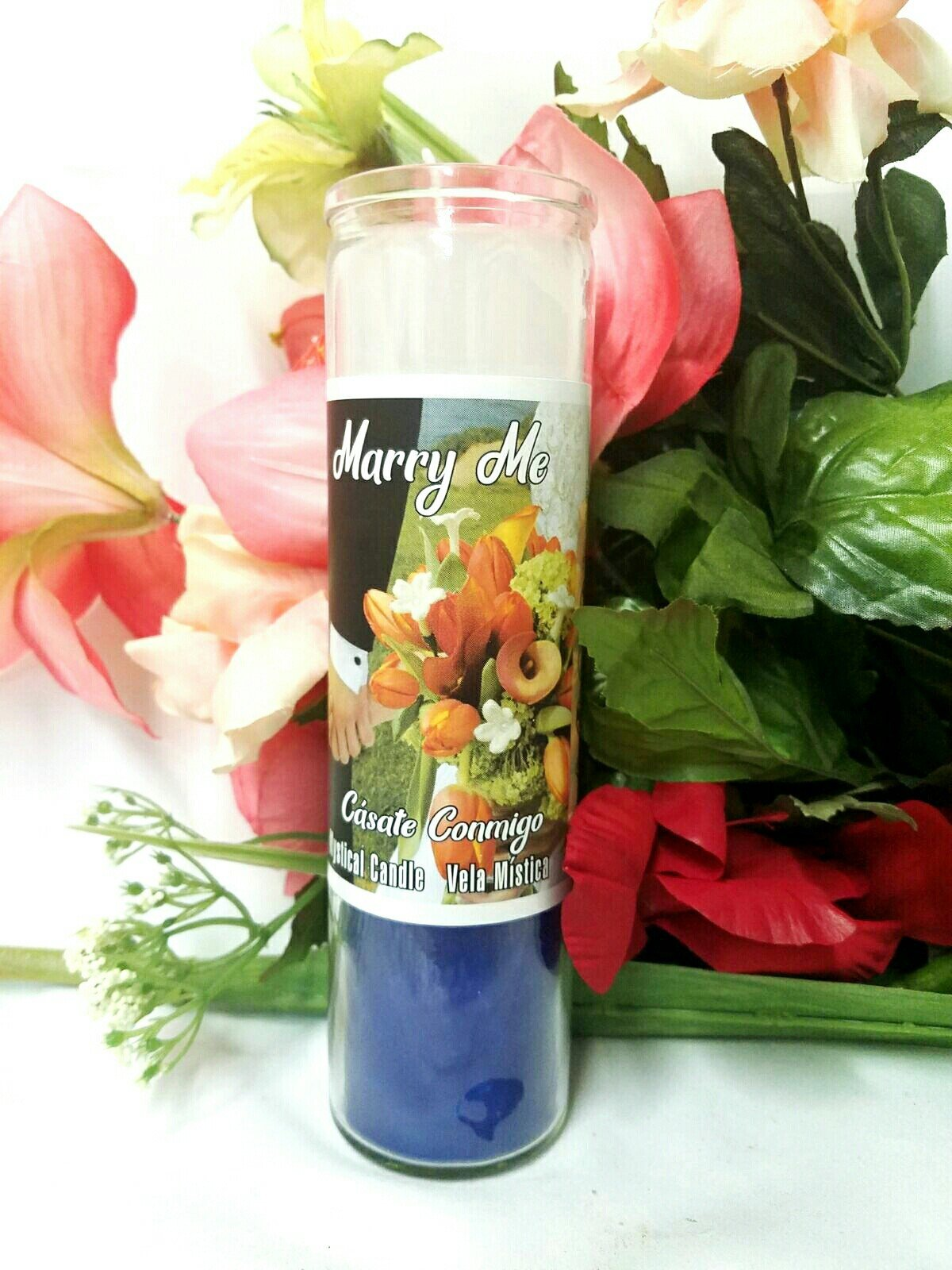 Marry Me Candle