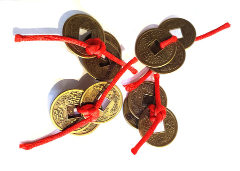 Red String Money Coin
