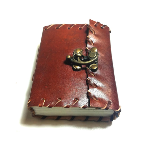 Small Leather Journal Book