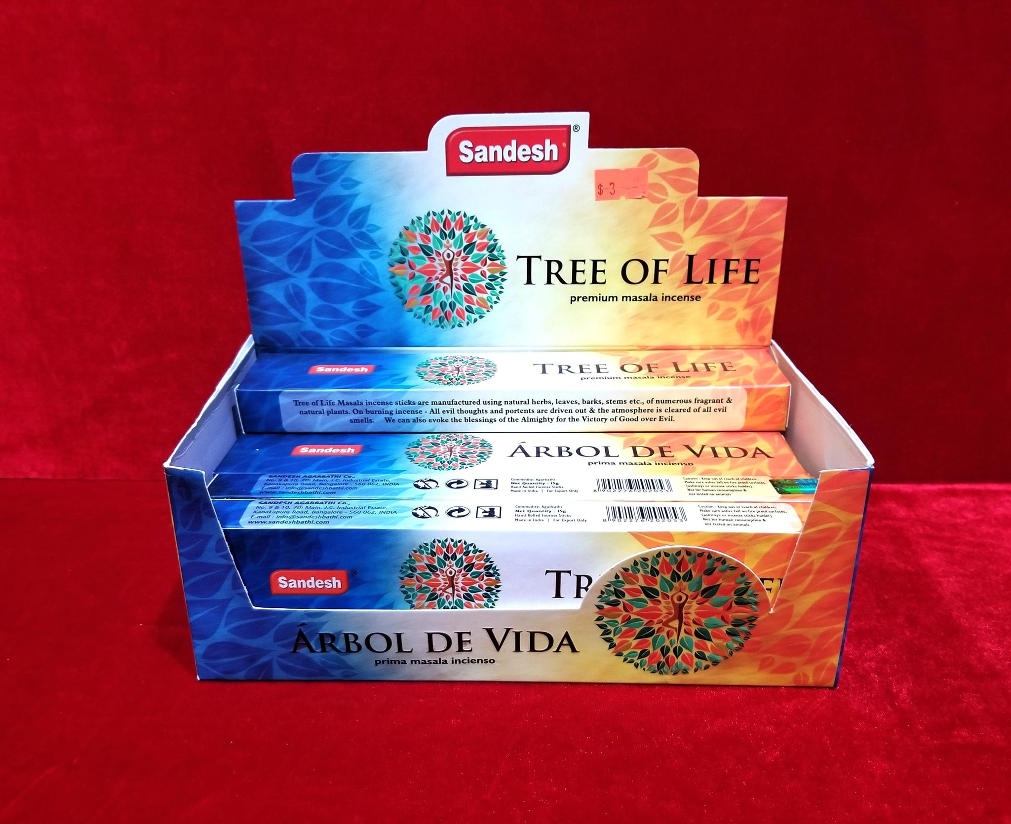 Tree of Life Incense Sticks