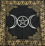 Tapestry Altar Cloth Triple Moon