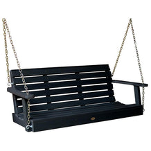 Porch Swing Plastic Black