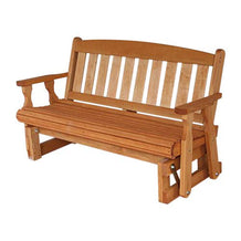 Amish Wooden Porch Glider