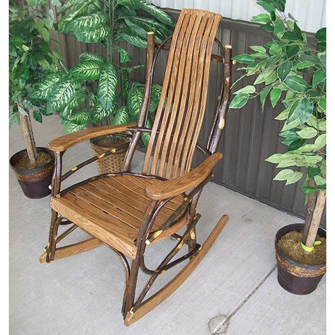 A&L Furniture Co. Hickory Rocking Chair