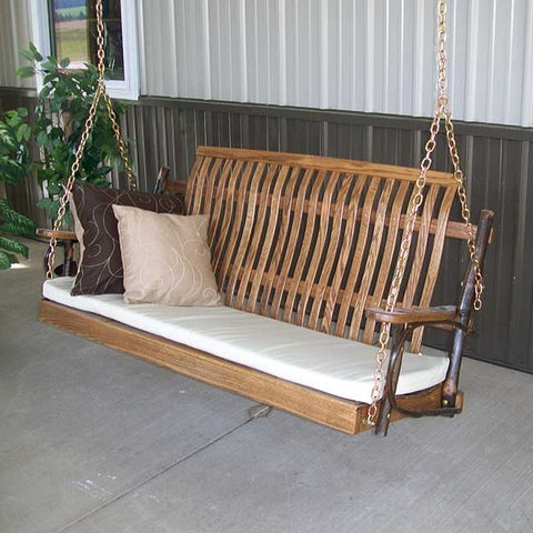 A&L Furniture Co. Hickory Porch Swing