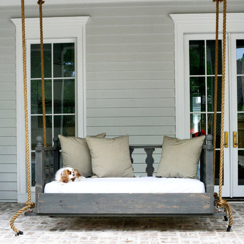 HammMade Victorian Hanging Swing Bed