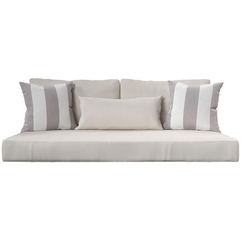 Cushion Perfect For Breezy Acres and A&L Furniture Swing Bed Mattress And Sunbrella Cover Style 16