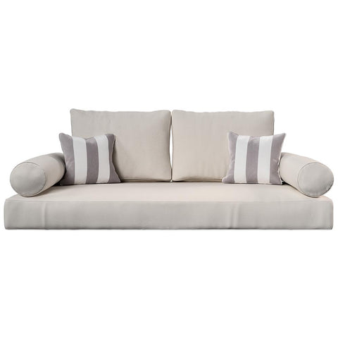 Cushion Perfect For Breezy Acres and A&L Furniture Swing Bed Mattress And Sunbrella Cover Style 3