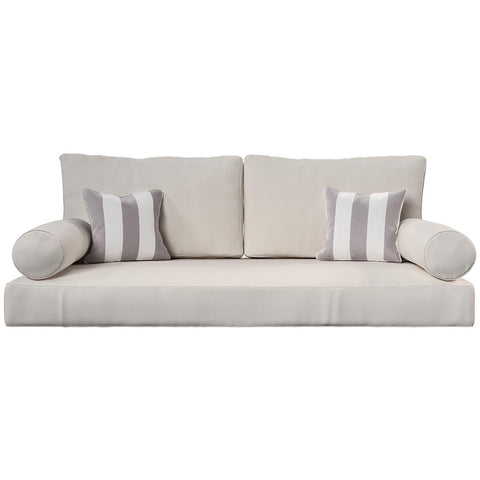 Cushion Perfect For Breezy Acres and A&L Furniture Swing Bed Mattress And Sunbrella Cover Style 4