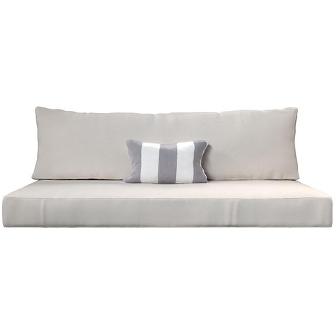 Cushion Perfect For Breezy Acres and A&L Furniture Swing Bed Mattress And Sunbrella Cover Style 7