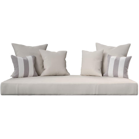Cushion Perfect For Breezy Acres and A&L Furniture Swing Bed Mattress And Sunbrella Cover Style 8