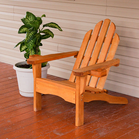 Centerville Amish Heavy Duty 800 Lb Heavy Duty Treated Adirondack Chair