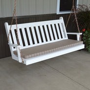 A&L Furniture Co. Traditional English Porch Swing
