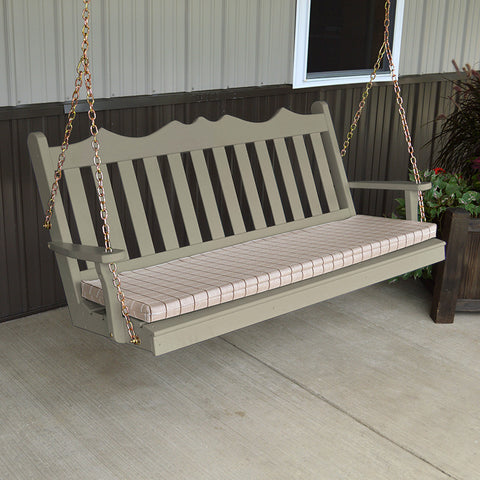 A&L Furniture Co. Royal English Porch Swing
