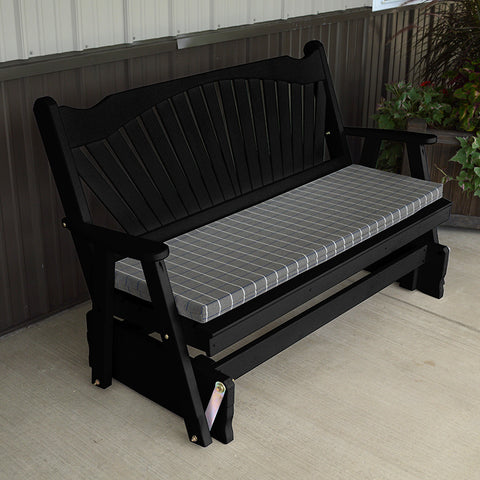 A&L Furniture Co. Fanback Porch Glider