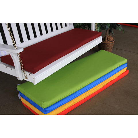 A&L Furniture Co. 45 x 18 Outdoor Cushion For Benches And Porch Swings