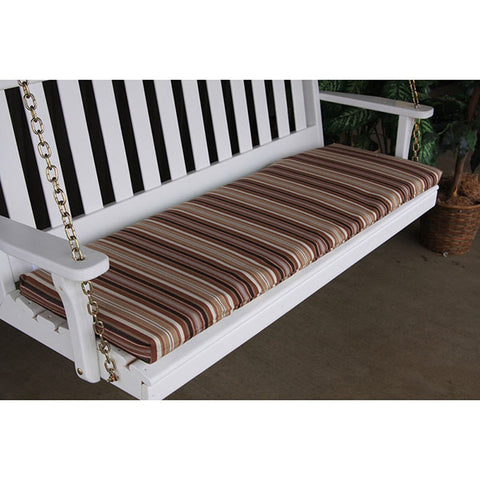 A&L Furniture Co. 55 x 18 Outdoor Cushion For Benches And Porch Swings