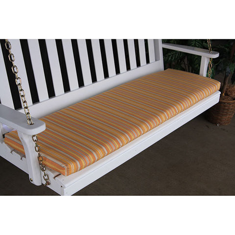 A&L Furniture Co. 68 x 18 Outdoor Cushion For Benches And Porch Swings