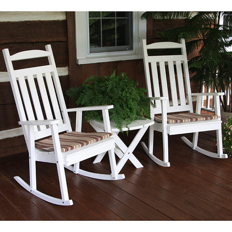 A&L Furniture Co. Classic Recycled Plastic Rocking Chair