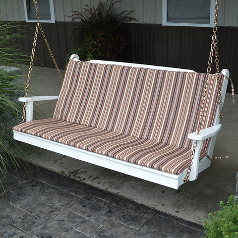 A&L Furniture Co. 55 x 38 Full Outdoor Cushion For Benches And Porch Swings