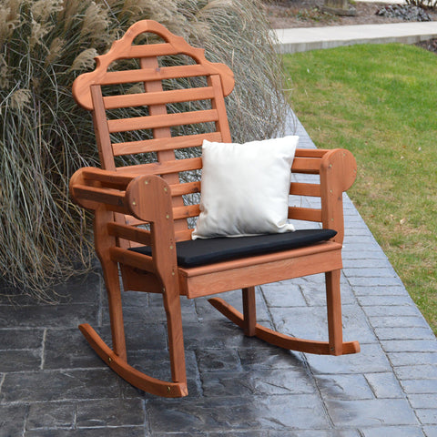 A&L Furniture Co. Marlboro Red Cedar Rocking Chair