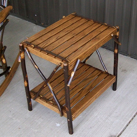 A&L Furniture Co. Hickory End Table