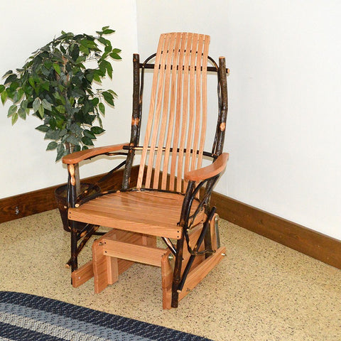A&L Furniture Co. Hickory Glider Chair