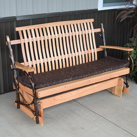 A&L Furniture Co. Hickory Porch Glider