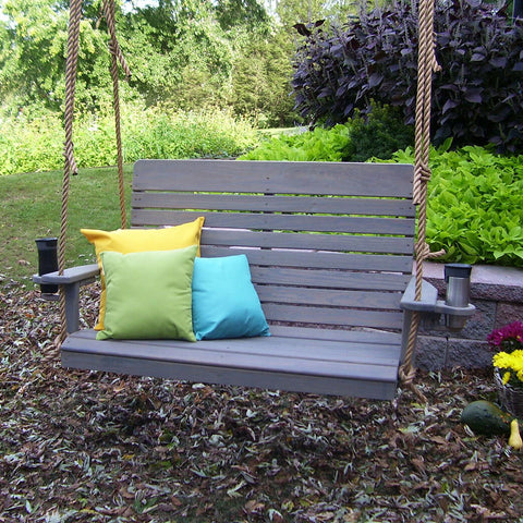A&L Furniture Co. Highback Pressure Treated Porch Swing